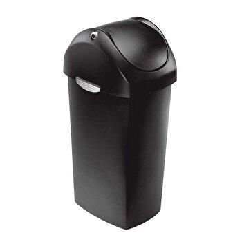 Cos de gunoi SimpleHuman, 60 L, plastic, CW1333, Negru
