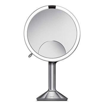 Oglinda cosmetica cu senzor, SimpleHuman, 23.2 cm, ST3024, Argintiu imagine 2021