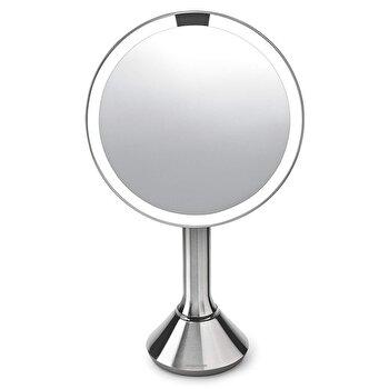 Oglinda cosmetica cu senzor, 23 cm, SimpleHuman, ST3026, Argintiu