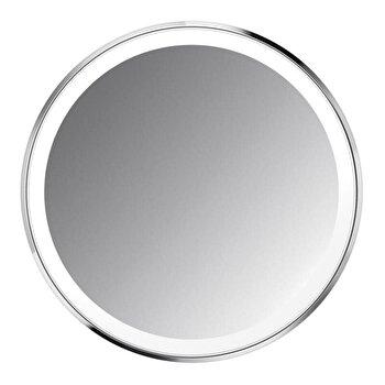 Oglinda cosmetica de buzunar SimpleHuman, cu senzor, 10.4 cm, ST3030, Argintiu
