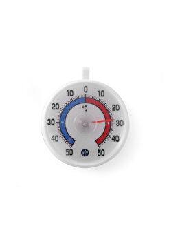 Termometru frigider, Hendi, -50 / +50 grade C, cu carlig agatare, 72 x 21 mm, 271124, Alb imagine 2021