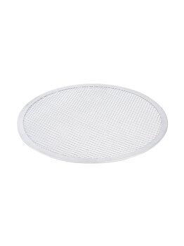 Tava sita / retina pizza, Hendi, aluminiu, 28 cm, 617526, Alb