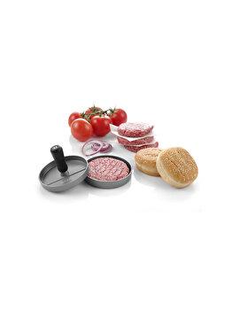 Presa pentru hamburger, Hendi, aliaj aluminiu cu strat anti-aderent, 12 cm, 513026, Gri