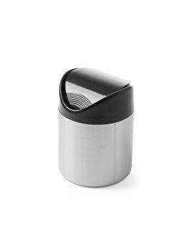 Cos Hendi pentru gunoi masa, otel inoxidabil cu capac din plastic, 440704, Negru