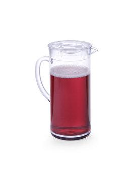Carafa suc, Hendi, cu capac, plastic transparent SAN, 2 L, 425138, Incolor