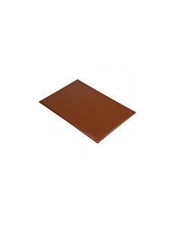 Tocator, Hendi, cu 2 fete taiere, 530 x 325 x 15 mm, 826041, polietilena, Maro