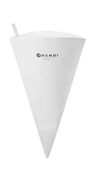 Posh / punga pentru ornare patiserie, Hendi, 45 cm, 550403, nylon super-rezistent, Alb imagine