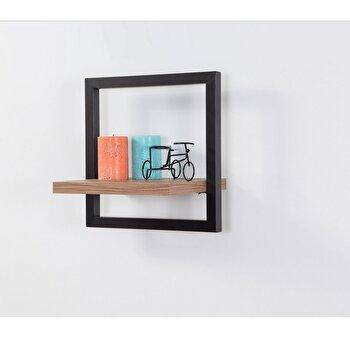 Raft decorativ, Sapphire, 35 x 35 x 25 cm, 863SPH1603, pal melaminat, Maro