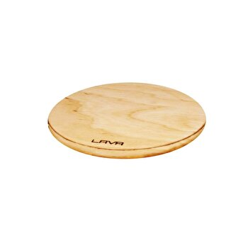 Suport magnetic LAVA, lemn, 20 cm, LVAS106, Galben imagine