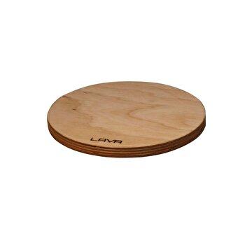 Suport magnetic LAVA, lemn, 28 cm, LVAS108, Maro
