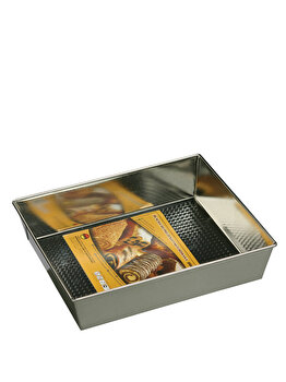 Tava pentru prajituri SNB, 87743, Argintiu