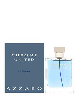 Apa de toaleta Azzaro Chrome United, 100 ml, pentru barbati poza