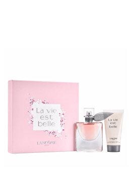 Set cadou Lancome La Vie Est Belle (Apa de parfum 30 ml + Lotiune de corp 50 ml), pentru femei imagine produs