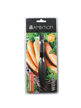 Peeler pentru legume - Wendy, Ambition, 96614, Argintiu