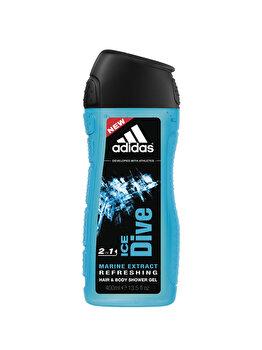 Gel de dus Adidas Ice Dive 2 in 1, 400 g, pentru barbati poza