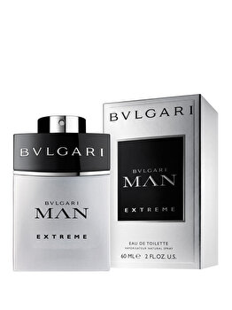 Apa de toaleta Bvlgari Man Extreme, 60 ml, pentru barbati poza