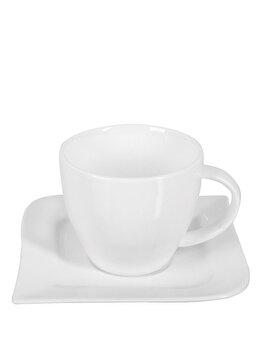 Set 12 piese, pentru servirea cafelei- Fala, Ambition, 61244, Alb