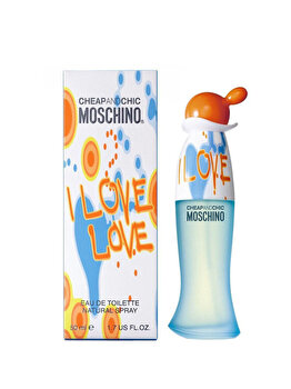 Apa De Toaleta Moschino I Love Love, 50 Ml, Pentru Femei