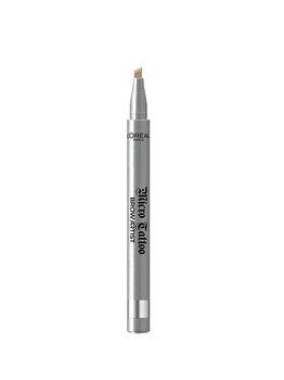 Creion de sprancene cu varf tip carioca L'Oreal Paris Brow Artist Micro Tattoo, 101 Blond, 5 g imagine produs