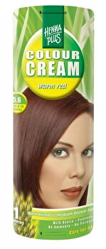 Crema nuantatoare Colour Cream, 5.6 Warm Red, 60 ml poza