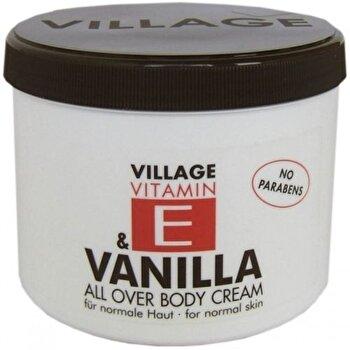 Crema corp cu vitamina E si Vanilie, 500 ml