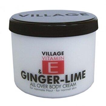 Crema corp vitamina E si Ghimbir - Lamaita, 500 ml