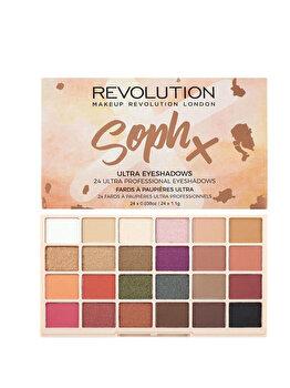 Paleta de farduri Makeup Revolution Soph Eyeshadow Palette, 26.4 g imagine produs