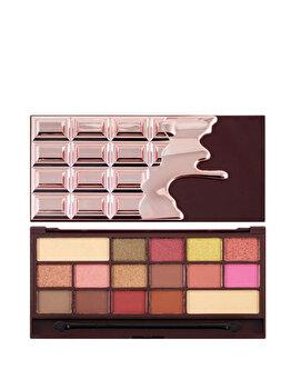 Paleta farduri de ochi, I Heart Makeup, Chocolate Rose Gold, 21.95 g imagine produs
