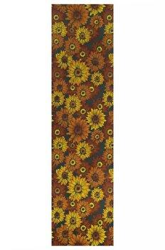 Traversa Decorino Floral CT51-131213, Multicolor, 67x200 cm imagine