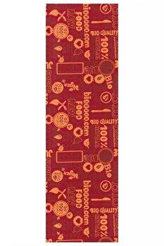 Traversa Decorino Modern & Geometric CT234-131216, Rosu, 67x700 cm imagine
