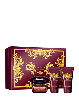 Imagine Set Cadou Versace Crystal Noir apa De Toaleta 50 Ml Gel Dus
