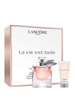 Set cadou Lancome La Vie Est Belle (Apa de parfum 50 ml + Lotiune de corp 50 ml), pentru femei imagine produs