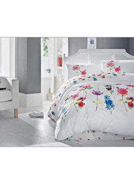 Lenjerie de pat single - Spring Cotton Box, 129CTN2194, Alb
