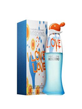 Apa De Toaleta Moschino I Love Love, 100 Ml, Pentru Femei