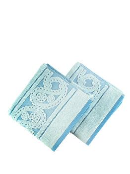 Set doua prosoape - Lace, Hobby, 317HBY1202, Albastru