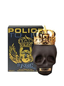Apa de toaleta Police To Be King, 125 ml, pentru barbati imagine produs