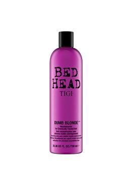 Balsam pentru parul blond Bed Head Dumb Blonde Reconstructor, 750 ml imagine produs