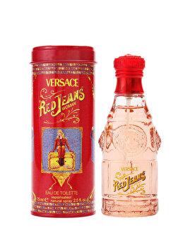Apa de toaleta Versace Jeans Red, 75 ml, pentru femei imagine produs