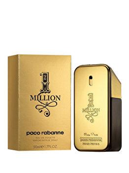 Apa de toaleta Paco Rabanne 1 Million, 50 ml, pentru barbati imagine produs