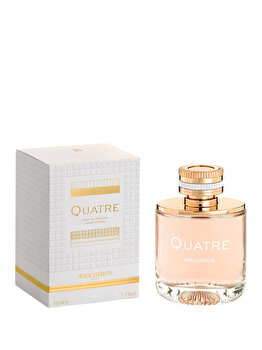 Apa de parfum Boucheron Quatre, 50 ml, pentru femei imagine produs