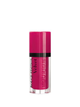 Ruj Bourjois Rouge Edition Velvet 06 Pink Pong, 7.7 ml imagine produs