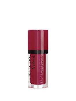 Ruj Bourjois Rouge Edition Velvet, 08 Grand Cru, 7.7 ml imagine produs