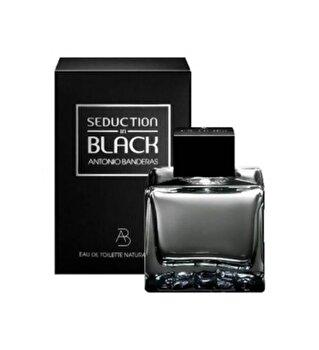 Apa de toaleta Antonio Banderas Seduction in Black, 200 ml, pentru barbati imagine produs