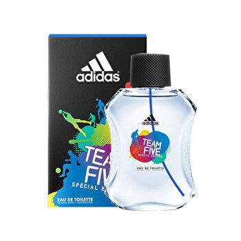 Apa de toaleta Adidas Team Five, 100 ml, pentru barbati imagine
