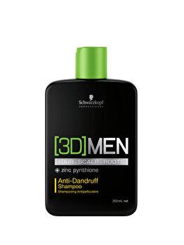 Sampon anti-matreata 3D Men, 250 ml imagine produs