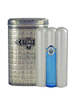 Apa de toaleta Cuba Prestige Platinum, 90 ml, pentru barbati imagine produs