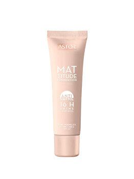 Fond de ten Mattitude Anti Shine cu SPF22, 091 Light Ivory, 30 ml imagine produs