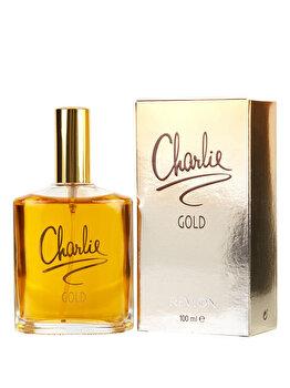 Apa de toaleta Revlon Charlie Gold, 100 ml, pentru femei imagine produs