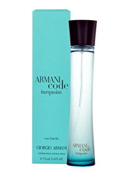 Apa de toaleta Giorgio Armani Code Turquoise, 75 ml, pentru femei imagine produs