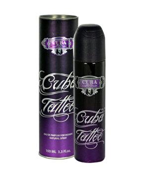 Apa de parfum Cuba Tattoo, 100 ml, pentru femei imagine produs
